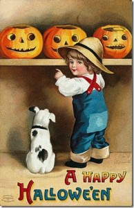 halloween images postcard
